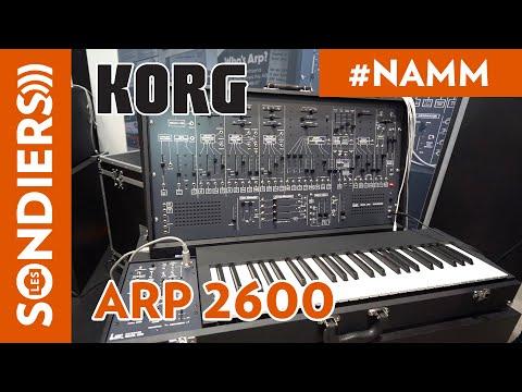 [NAMM2020] KORG ARP 2600 - FR
