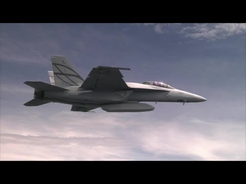 Boeing - Advanced Super Hornet Stealth Fighter Makes Its Debut Flight [720p]