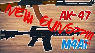 Nouvelles armes à feu dans Jailbreak?!! Gameplay Roblox