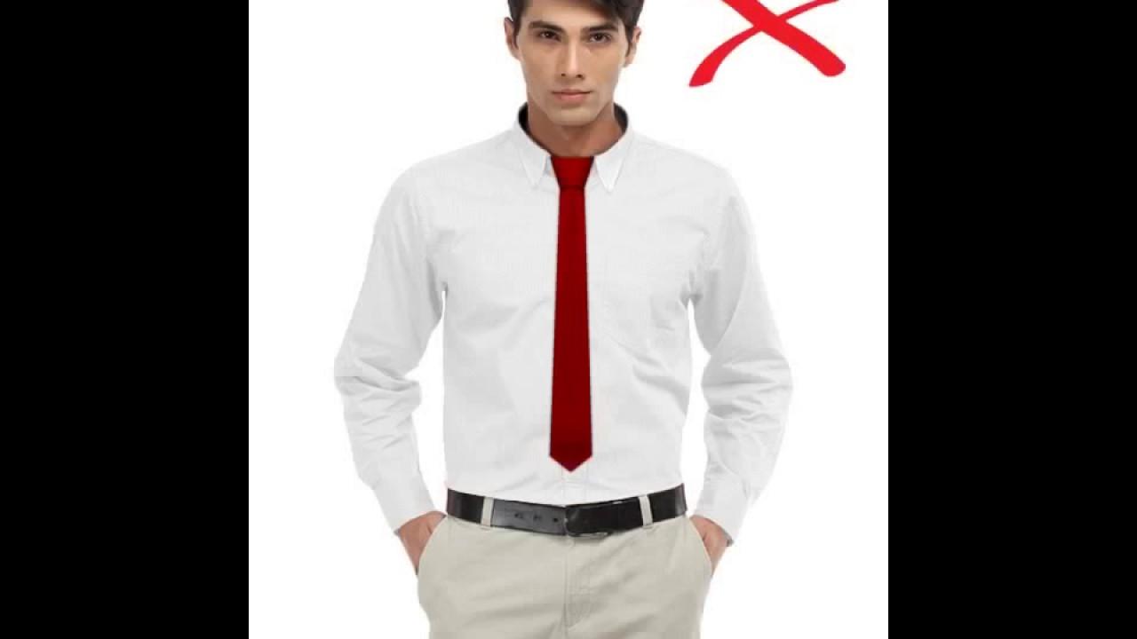 længde på slips