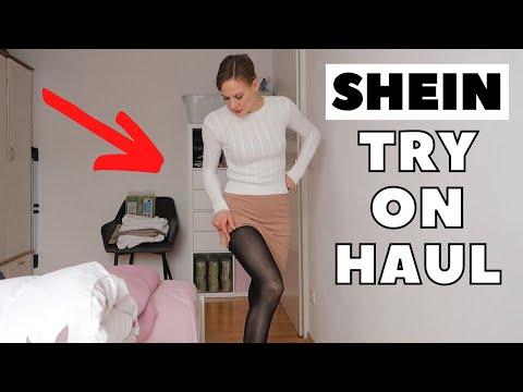 SHEIN Haul Deutsch - Strumpfhose Ausprobiert Und Neue Röcke