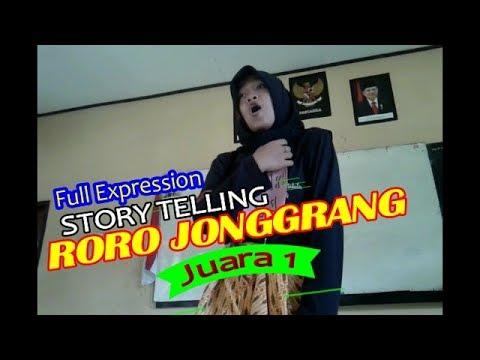 Juara 1 Story Telling Roro Jonggrang Ekspresinya Gokil Abissss