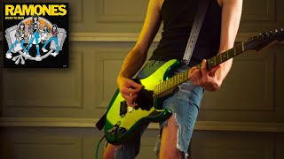 """Guitar Cover - """"I Don't Want You"""" - The RAMONES"""