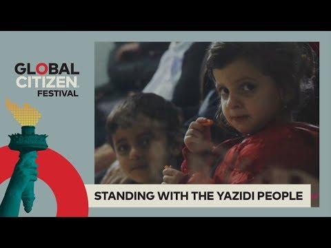 Yazidi Genocide Survivor Condemns ISIS, Calls for Justice | Global Citizen Festival NYC 2017