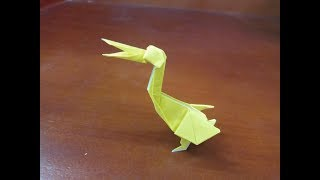 Origami Pelican - How To Make Pelican