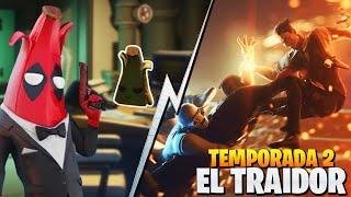*FILTRADO* DEADPOOL VS MIDAS / EL TRAIDOR DE LA AGENCIA | FORTNITE: Battle Royale
