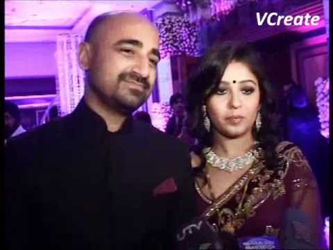 Sunidhi Chauhan and Hitesh Sonik's marriage party. - YouTube  Sunidhi Chauhan...