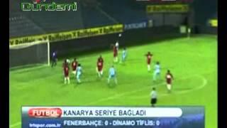 Fenerbahçe 0-0 Dinamo Tiflis ÖZET
