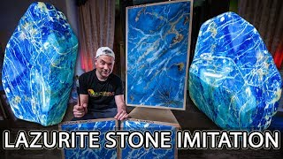 Венецианская Штукатурка | How To Create Lazurite Stone | Wowcolor Creama Bianco Stucco Veneziano