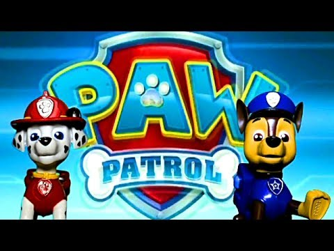 PAW Patrol in Smart Wheel City: Runaway Train🐾 Chase & Marshall