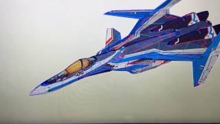 Macross Delta VF-31 Papercraft