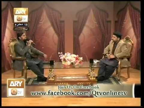 alhaj muhammad farooq mehrvi new naat 2015   ary qtv program naat zindge he  bala ghal ola robae haz