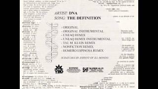 Play The Definition (Nonfiction Remix)