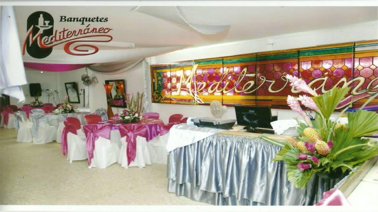Banquetes mediterr neo en bello youtube for Bello salon