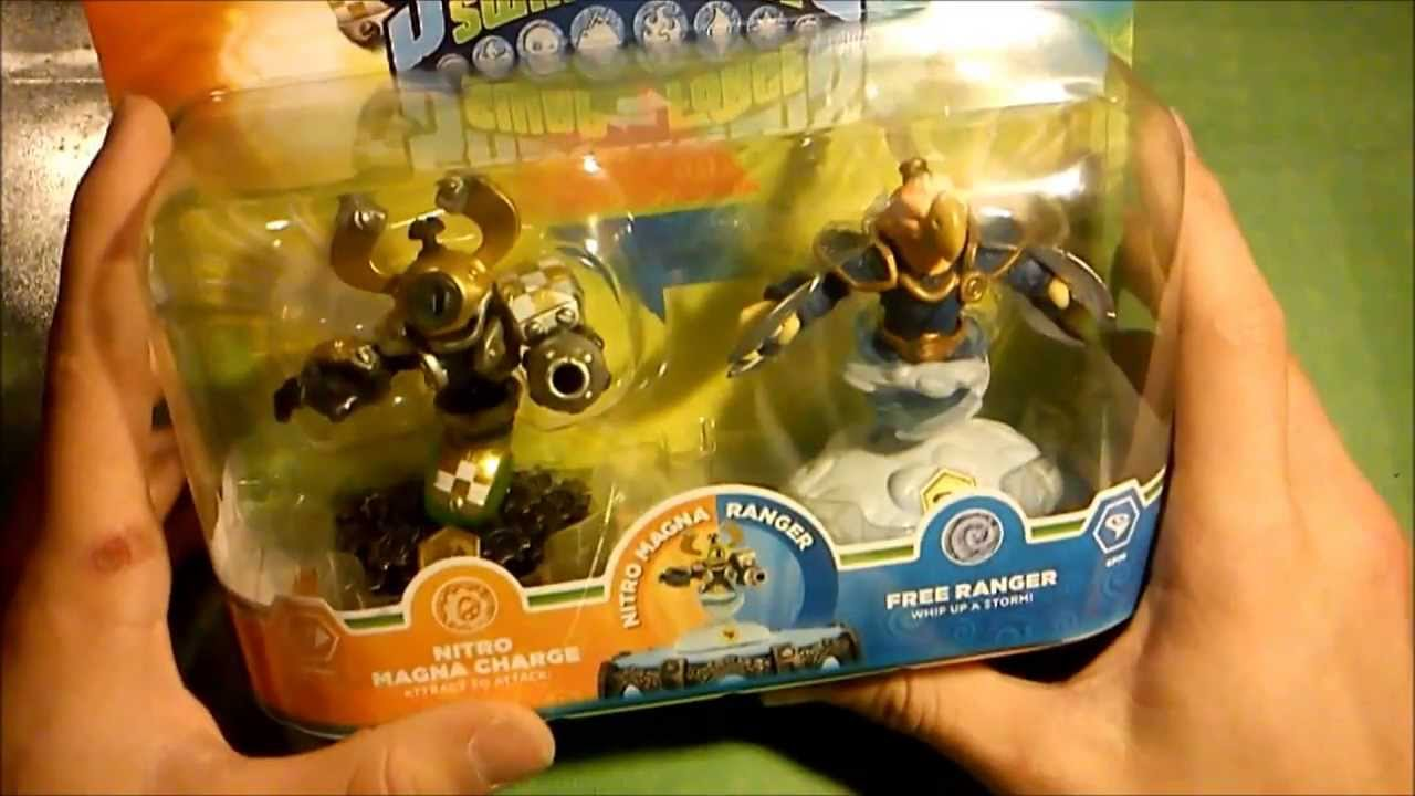 OuvertureUnboxing Dun Pack Figurines Skylanders Swap