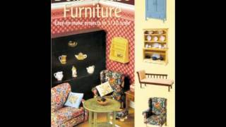 Home Book Review: Dolls House Furniture: Easy-to-make Projects In 1/12 Scale By Freida Gray