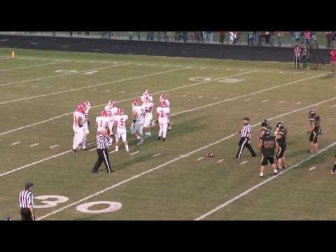 Dardanelle VS Pottsville High School Football 2016