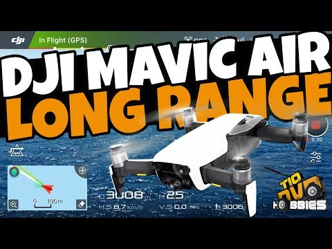 DJI MAVIC AIR LONG RANGE - QUASE PERDI O DRONE NO MAR - BRAS