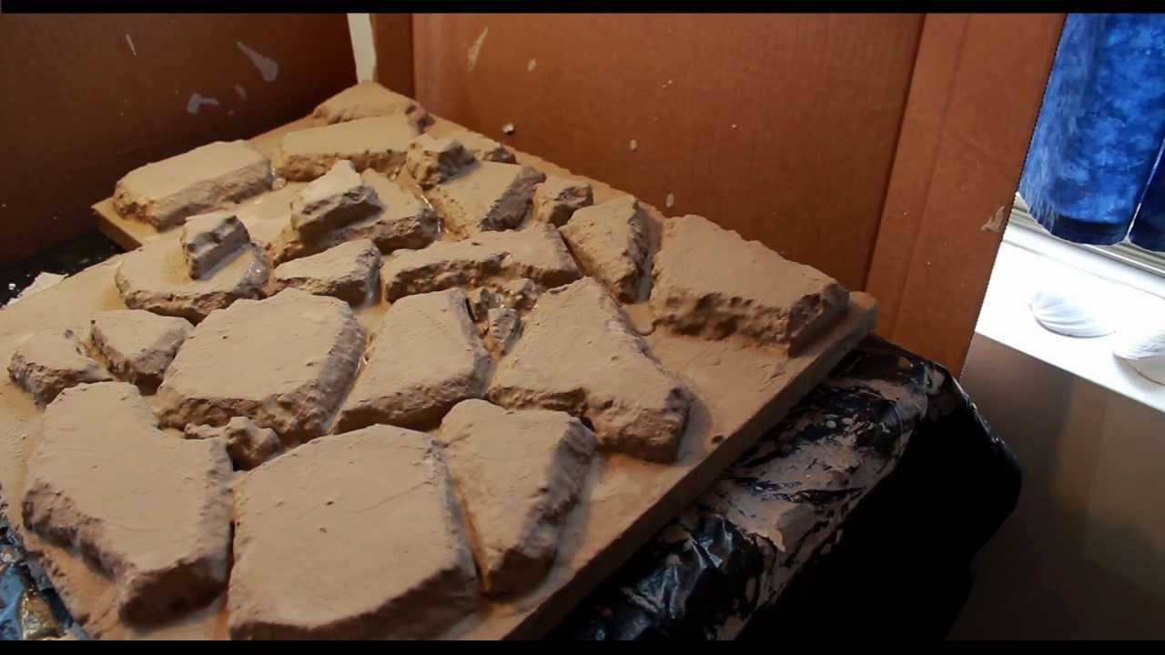 Building A Rock Wall For A Reptile Home Tutorial Youtube