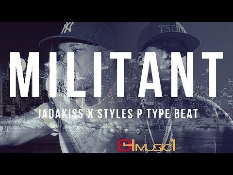 Jadakiss x Styles P Type Beat - Militant | Rap type | Hip Hop type