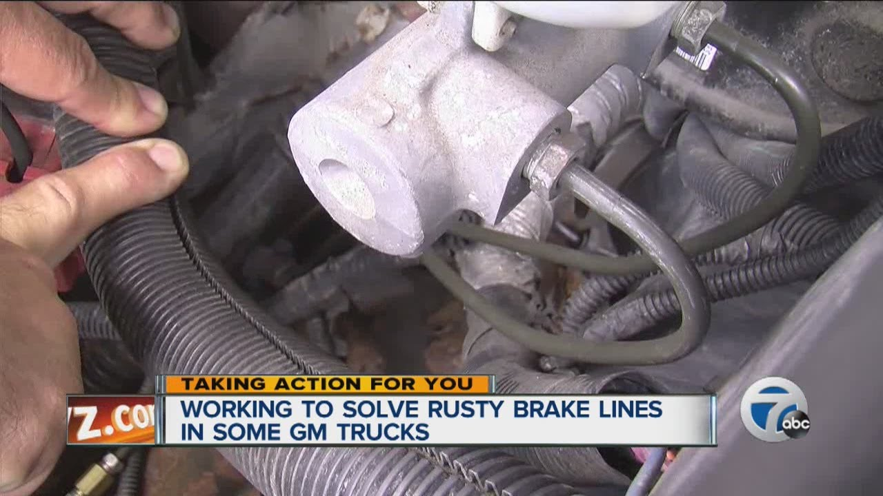 hight resolution of working to solve rusty brake lines in some gm trucks