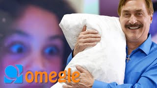 My Pillow Guy Mike Lindell Goes Crazy On Omegle