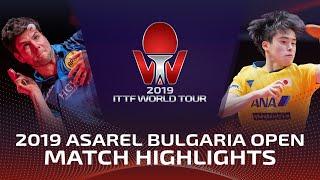 Дмитрий Овчаров vs Masataka Morizono | Bulgaria Open 2019 (R32)
