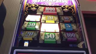 Double Top Dollar $10 Denomination $30/Spin - 3 Bonuses - High Limit
