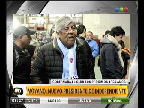 Moyano, Presidente De Independiente - Telefe Noticias