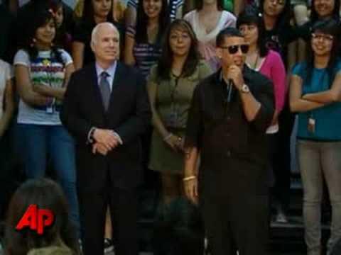 Musician Daddy Yankee Backs Sen. McCain