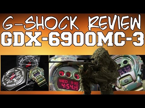CASIO G-SHOCK REVIEW AND UNBOXING GDX-6900MC-3 MILITARY CAMOUFLAGE OLIVE GREEN WOODLAND