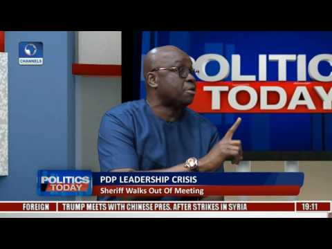 Politics Today: PDP Reconciliation Meeting Ended In A Stalemate Pt. 2