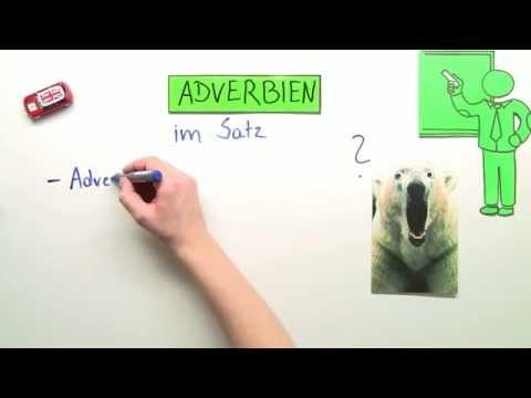 Lernvideo Adverbien Und Ihre Satzstellung Englisch Grammatik