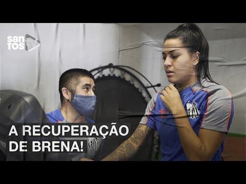 BRENA TRATA LESÃO DE LIGAMENTO E SONHA COM RETORNO