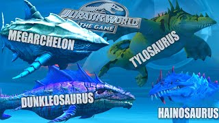 TOP STRONG WARRIORS JOIN VIP EVENT | JURASSIC WORLD THE GAME