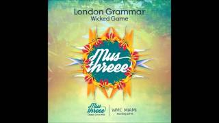 London Grammar -Wicked Game (Mus Threee Ocean Drive Mix) WMC Miami 2016