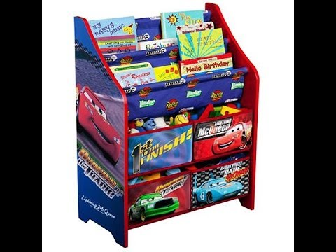Disney Cars Book And Toy Organizer Bloopers
