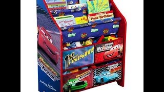 """Disney """"Cars"""" Book and Toy Organizer + Bloopers"""
