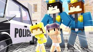 ZŁAPAŁA NAS POLICJA  ŻYCIE W MINECRAFT #7 *zamkną nas w więzieniu*