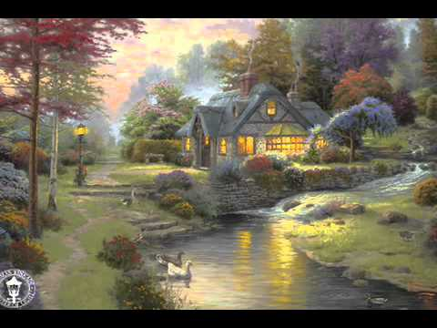 Stillwater Cottage Painting By Thomas Kincade