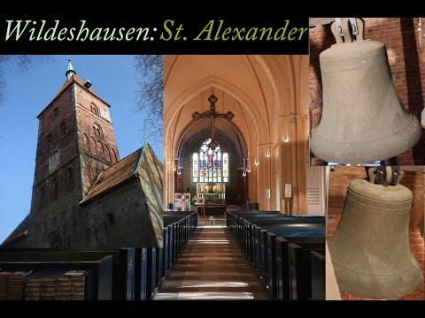 Wildeshausen  - D - NDS - OL - ehem. luth. Stiftskirche St. Alexander: Voll & Einzel