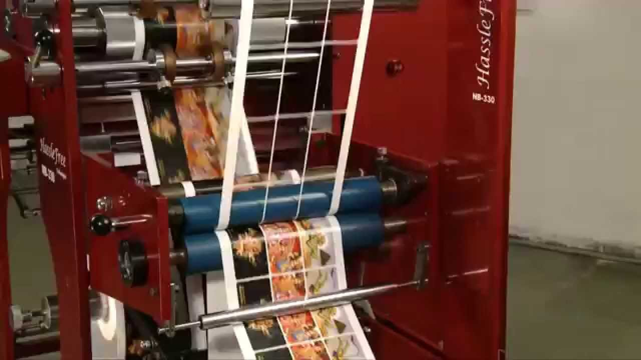 Hasslefree Nb 330 Intermittent Rotary Die Cutting Machine