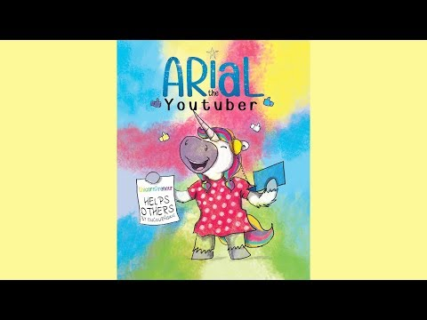 Arial The YouTuber By Mary Nhin - Videobooks For Kids