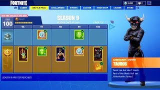 SEASON 9 BATTLE PASS LEAKED! FORTNITE SEASON 9 UPDATE! NEW SEASON 9 SKINS, THEME & SEASON 9 TRAILER!