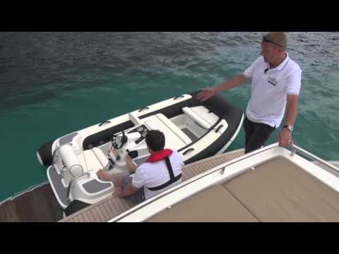 Cruise Further, Cruise Safer episode 6 - Launching a tender | Motor Boat & Yachting