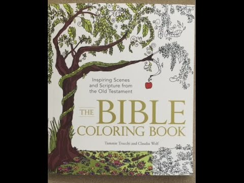 The Bible Coloring Book: Inspiring Scenes and Scripture from the Old ...