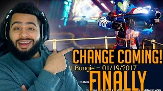 DESTINY UPDATE - FINALLY PVP IS GONNA CHANGE!! Buff Snipers Buff Everything!! :D
