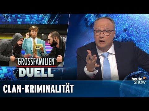 Kriminelle Clans: Nach 30 Jahren wacht der Rechtsstaat auf | heute-show vom 16.11.2018