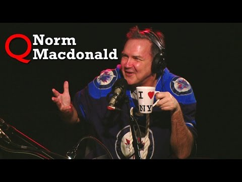 Norm Macdonald in Studio Q