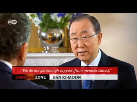 UN Secretary-General Ban Ki-moon | Conflict Zone